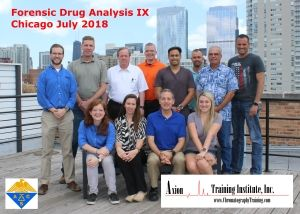 Forensic Drug Analysis IX July 2018